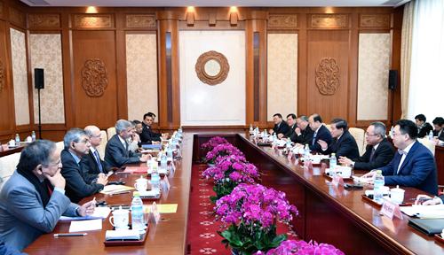 中印战略对话在北京举行 达成广泛共识