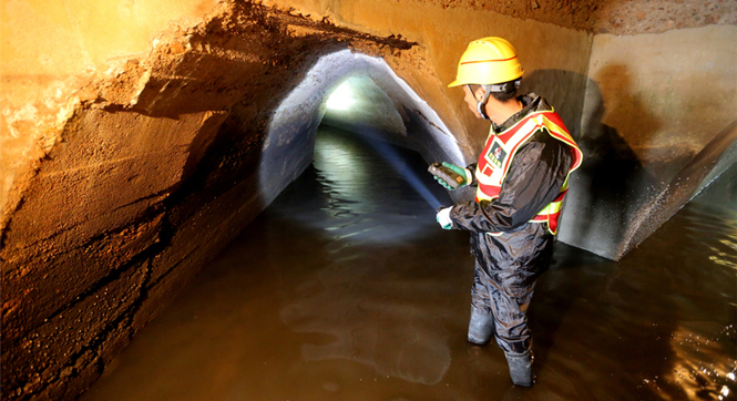 探秘青岛德国建下水道 2.66公里保持原貌