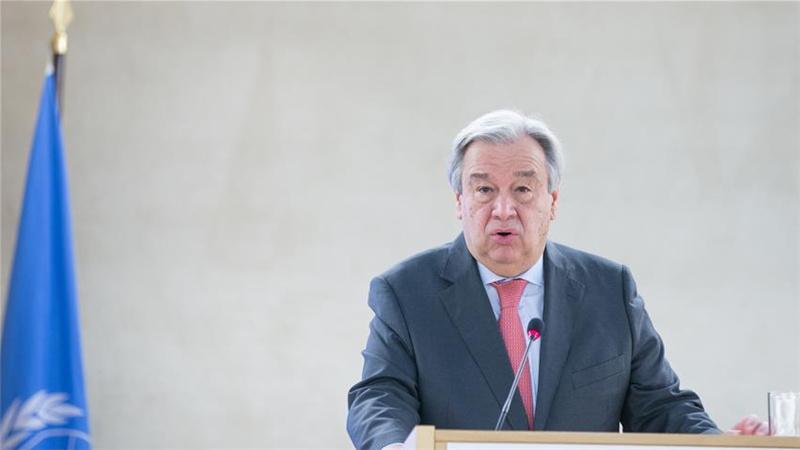 联合国秘书长:人权问题是一个整体概念(组图)