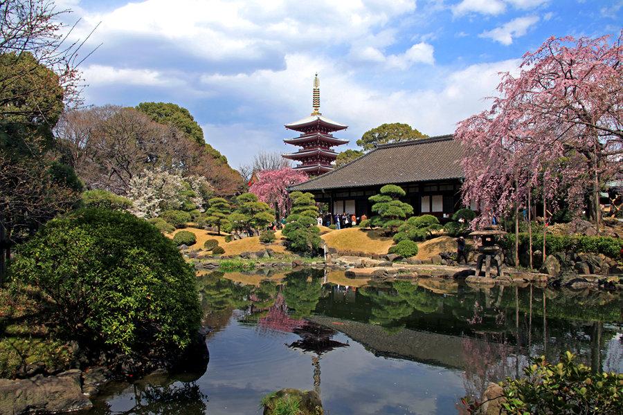 东京:浅草寺传法院(一)