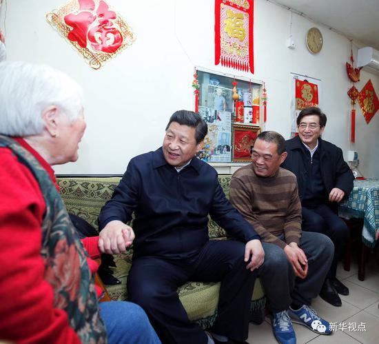 图片故事:习近平心中的北京城