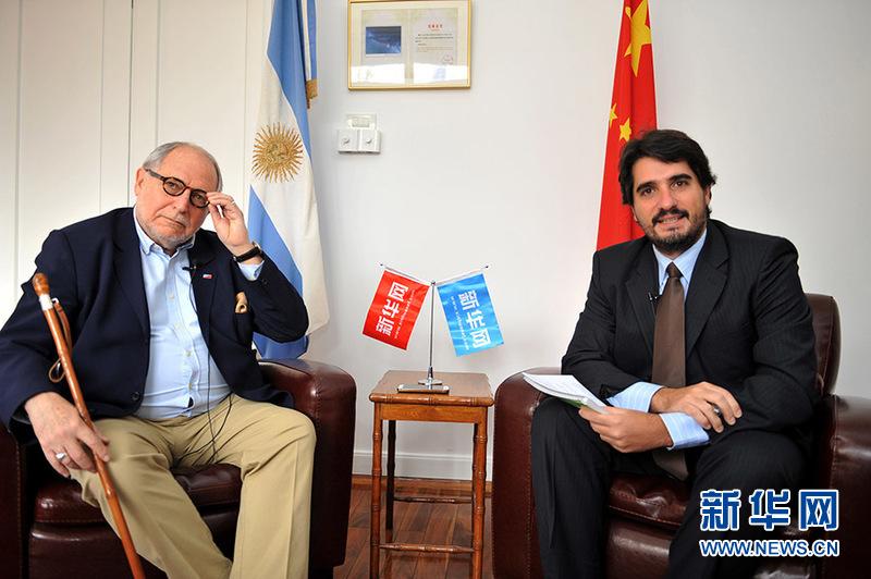 阿根廷驻华大使:宣传中国威胁论是无稽之谈