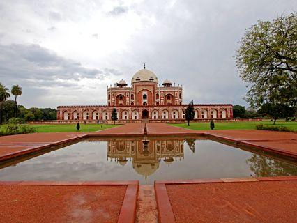 印度:胡马雍陵花园