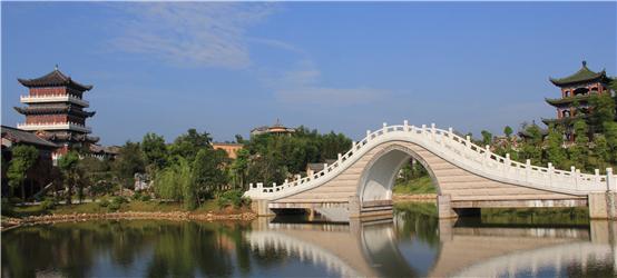 文博园桥面