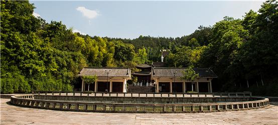 赵朴初文化公园——寺前