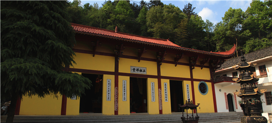 狮子山二祖禅堂