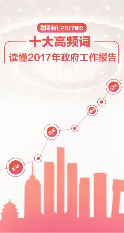 图省事儿:十大高频词读懂2017年政府工作报告