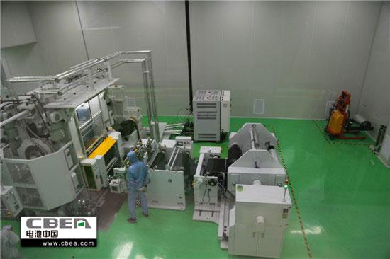 狮科技三元动力锂电生产线(局部)-猛狮科技 年产6GWh动力锂电池