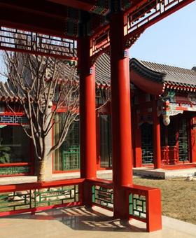 北京四合院的建築佈局與居住文化