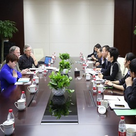 Dutch Delegation Shows Great Interest in Beijing Expo 2019 during a Visit to Expo Site
