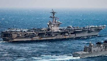 军情24小时:美航母战斗群与日舰在东海大秀肌肉