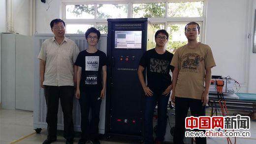 """""""电动汽车高压中控盒生产线信息管理系统""""试运行。"""