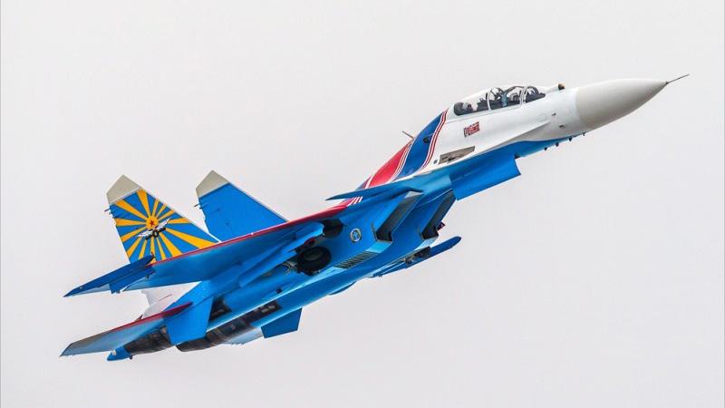 俄'勇士'换装苏-30后加紧训飞 将在马来西亚首秀