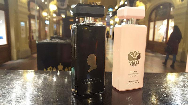 俄新款女性香水打普京牌 100毫升卖887元