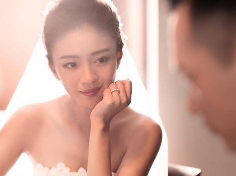 安以轩公开结婚喜讯!晒婚纱照并深情告白老公