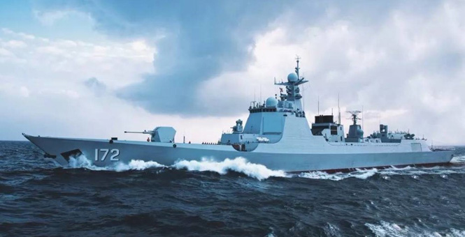 南海舰队大批新型舰艇集中亮相