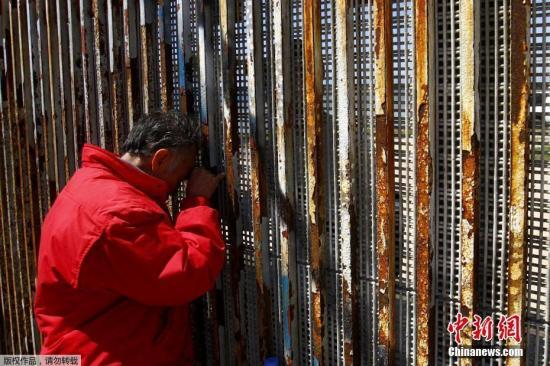 美墨边境墙设计要求出炉 高达9米难以攀爬穿透