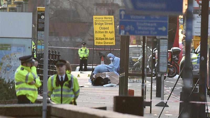 英国议会大厦附近发生恐袭 致5人死亡
