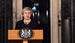 英国伦敦发生恐袭事件 全球政要同声谴责恐怖主义