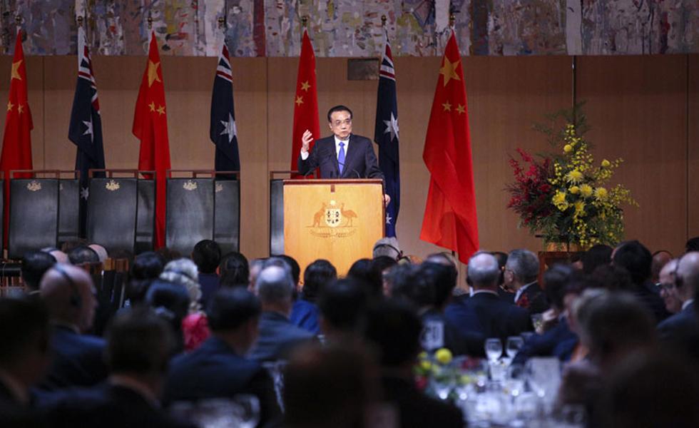 李克强与澳总理共同谴责伦敦恐怖袭击