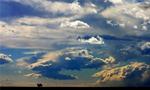 春季去新疆哈密西山乡观山赏云