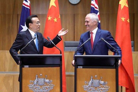 李克強與澳總理一天7次轉場,向世界釋放了什麼信號?
