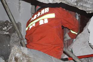 贵州省盘县新民乡发生一起山体滑坡
