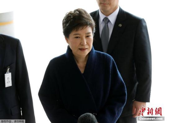 朴槿惠将接受逮捕必要性审查 或在看守房等结果