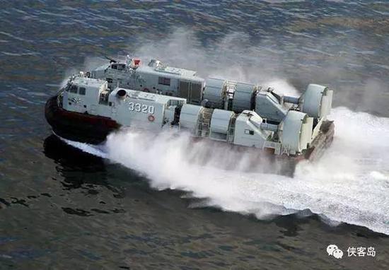野馬726型氣墊登陸艇