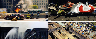 美联邦调查局首次公布9·11五角大楼遇袭照片