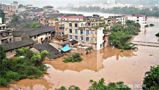 洪涝灾害成全球性问题 中法英俄等国奋勇抗击