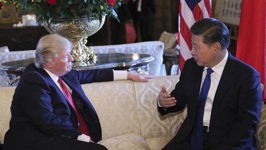 习近平与特朗普举行首次会晤 国际社会高度关注