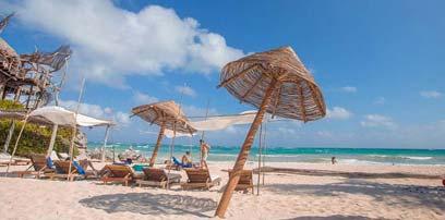 远离喧嚣!墨西哥小岛碧海蓝天椰风海韵