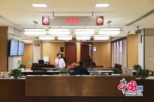 杭州市中医院患者等候区
