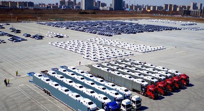 中国制造高端轿车首次出口到美国市场