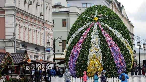 俄罗斯迎接复活节