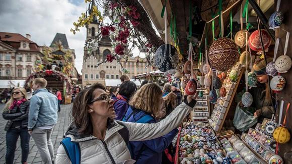 布拉格的复活节市场