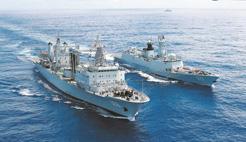 人民海军成立68周年:走向深蓝,为了和平与安宁