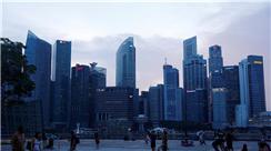 新加坡滨海湾掠影