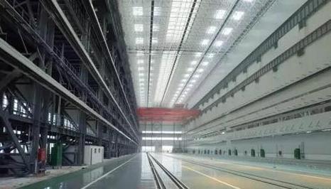 资料图片:中国已建成的世界最大核潜艇生产厂房(图片来源网络)