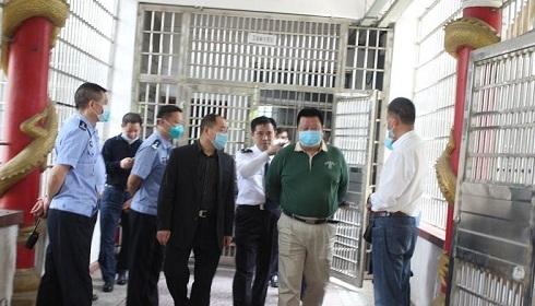 國家禁毒辦工作組來常督導檢查病殘吸毒人員收治工作
