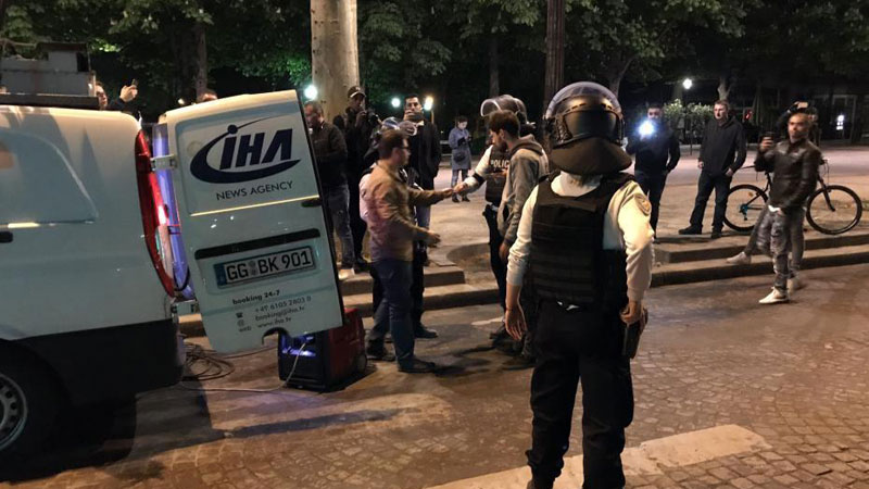 巴黎香街发生枪击事件 枪手毙命警方一死两伤