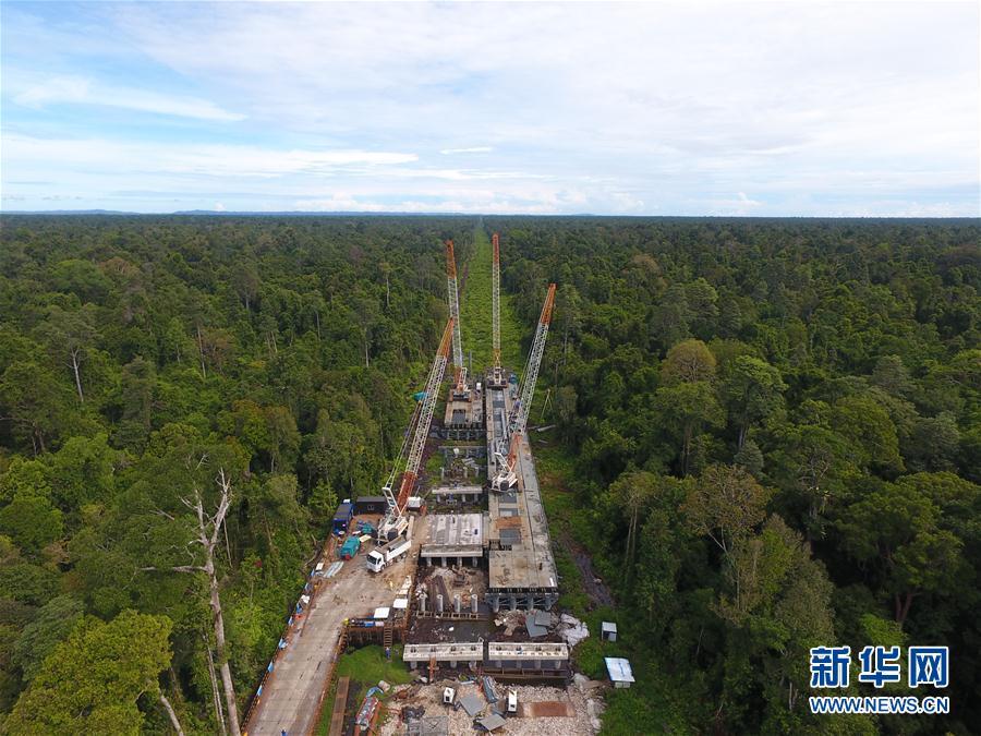 中国企业助力文莱淡布隆跨海大桥建设