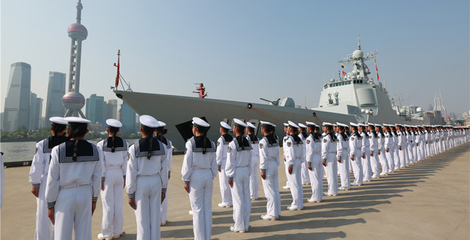 海軍遠航訪問編隊啟航赴20余個國家友好訪問