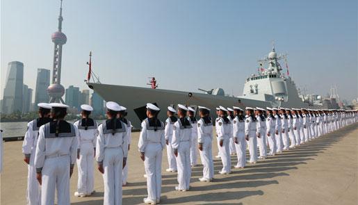 海军远航访问编队启航赴20余个国家友好访问