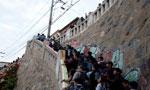 智利发生7.1级地震 海啸预警民众撤往高地