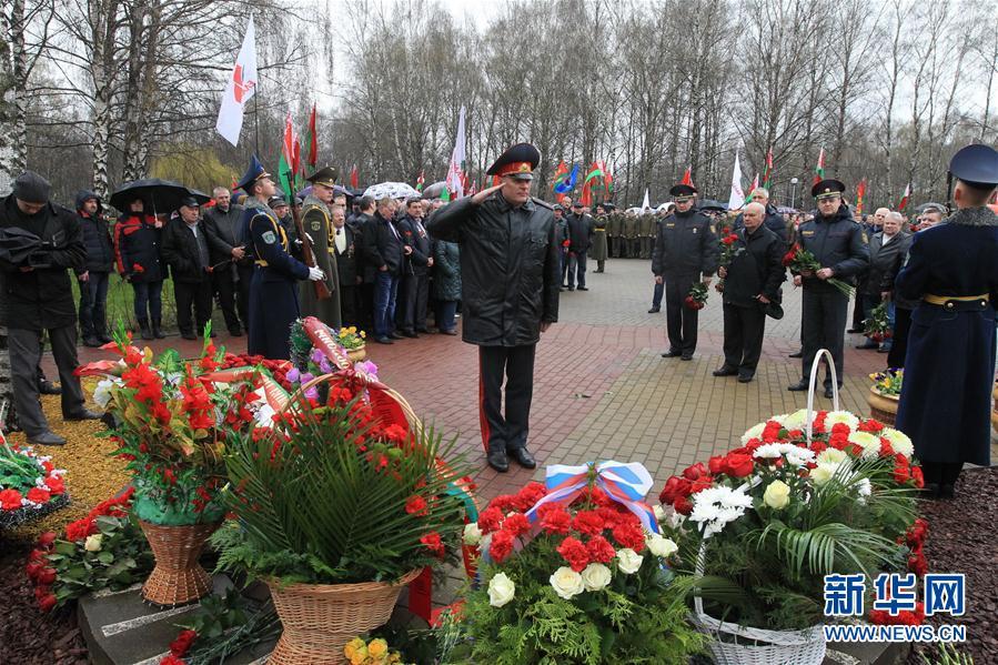 白俄罗斯纪念切尔诺贝利核事故31周年
