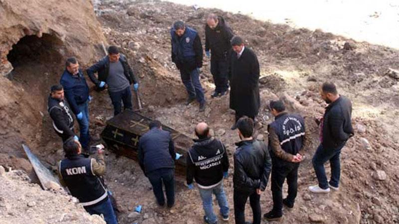 土耳其建筑工地发掘出沙俄将军棺椁