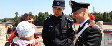 中意警务联合巡逻引热议 深化两国警务执法合作关系