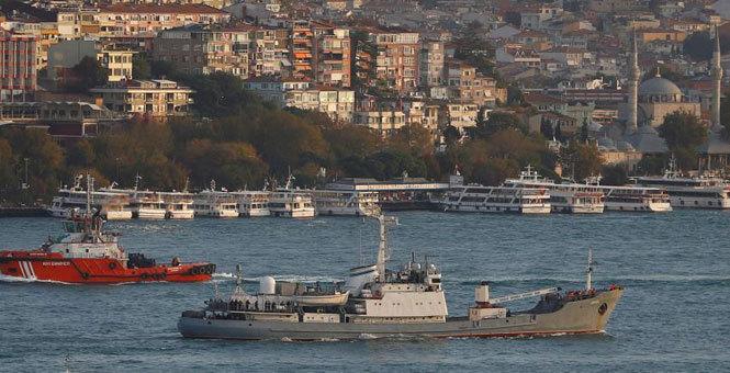 俄军舰与货船相撞后沉入黑海 船员全部获救